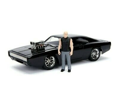 AU25.55 • Buy Fast And Furious Doms Dodge Charger R/T And Dom 1:24 Metal Kit Jada