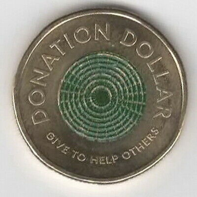 AU3.40 • Buy Royal Australian Mint Donation $1 Coin 2020 Circulated One Dollar  **FREE POST**
