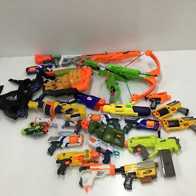 AU9.99 • Buy Assorted Bulk Nerf Toys Untested Parts Only & Accessories PICKUP ONLY VIC #604