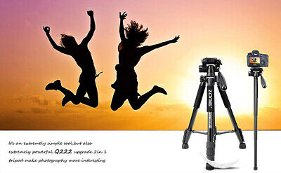 AU33.99 • Buy Zomei Portable Monopod Professional Heavy Duty Aluminium Tripod For DSLR Camera