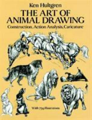 AU15.43 • Buy Dover Art Instruction Ser.: The Art Of Animal Drawing : Construction, Action...