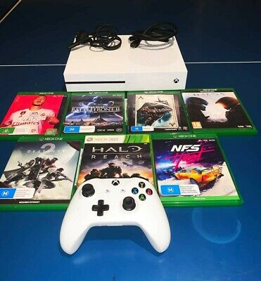 AU299.99 • Buy Xbox One S White 512GB +7 Games +Wireless Controller +Free Shipping In AU