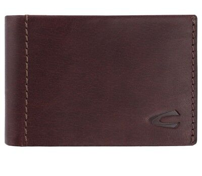 Camel Active Niagara Wallet Horizontal Small Front Purse Brown Brown New • 67.90£
