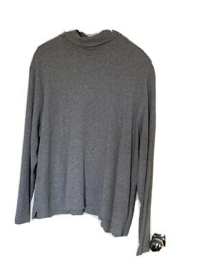 Cotswold Collections Ladies Turtle Neck Grey Top Size 3XL • 2.99£