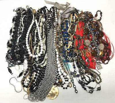 $ CDN12.54 • Buy Vintage Jewelry Lot All Necklaces 45pc