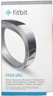 AU29.21 • Buy Fitbit Alta Metal Accessory Bracelet Stainless Steel Band Small Pre-owned