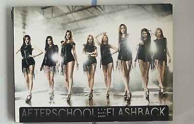 OOP After School Flashback Maxi Single Album *damaged* KPOP • 7£