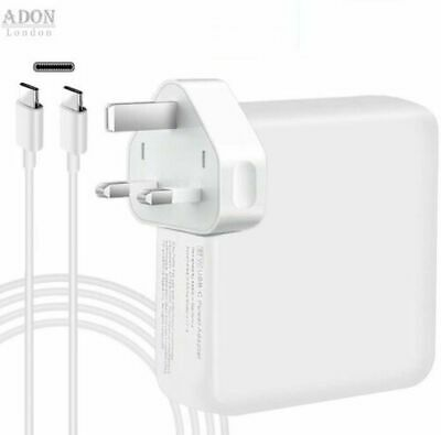 AU30.49 • Buy Replacement 30W,61W,87W USB C Power Adapter Compatible With Macbook Pro/Charger