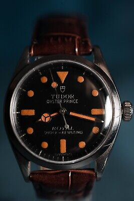 $ CDN2240.67 • Buy Vintage Tudor Rolex Oyster Prince 1960's - 34mm With Pumpkin Patina Lume