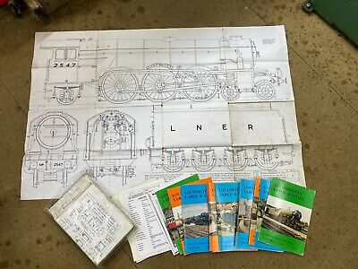 5 Inch Gauge Live Steam A3 Flying Scotsman, Castings, Drawings Locomotive. • 100£