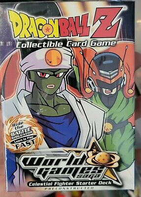 AU129.26 • Buy Dragonball Z SCORE DBZ CCG World Games Saga Hero Starter Deck Sealed Cards