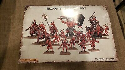 AU391.95 • Buy Blood Tide Of Khorne Army Age Of Sigmar (AOS) Warhammer Fantasy And 40k