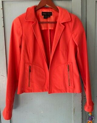 AU25.85 • Buy Nina McLemore Orange Crop Jacket 0 Free Ship
