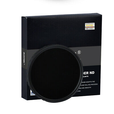 AU30.99 • Buy 18 Layer Multi-Coated Fader Variable ND Filter Zomei 67mm Ultra Slim HD ND2-400