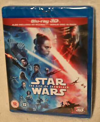 AU25.79 • Buy Star Wars Rise Of Skywalker 3d Version - Sealed 3 Blu Ray Disc Set