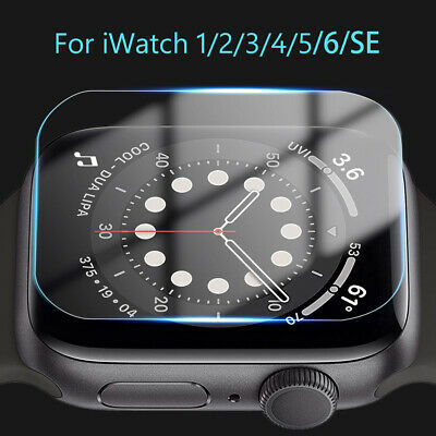 $ CDN3.23 • Buy Tempered Glass Screen Protector For IWatch Apple Watch 38mm 42 Mm Series 1/2/3