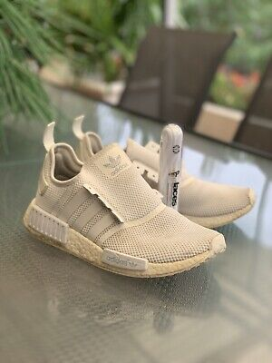 AU48 • Buy Mens US 9 ADIDAS NMD 'Core White' Synthetic Upper - Used / Fair Condition