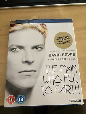 The Man Who Fell To Earth (40th Anniversary) (Blu-ray) David Bowie, Rip Torn • 5.20£