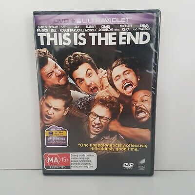 AU12.20 • Buy This Is The End | James Franco, Jonah Hill, Seth Rogen | Comedy DVD