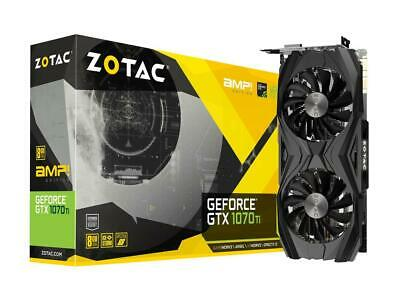 $ CDN770.72 • Buy ZOTAC ZT-P10710C-10P GeForce GTX 1070 Ti AMP! Edition 8GB GPU