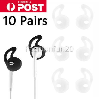 AU10.95 • Buy 10 Pairs Airpods Earpods Ear Hook Cover For Apple Earbuds Ear Tips Silicon NEW