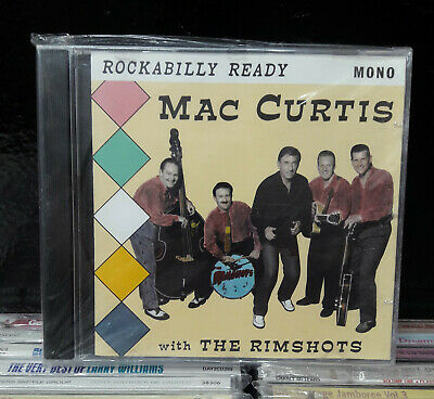MAC CURTIS  With The Rimshots   Rockabilly Ready  - CD  • 12.99£