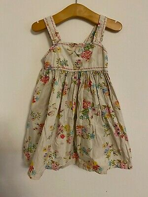 £5.95 • Buy NEXT DITSY ROSE PRINT DRESS 2-3 YEARS GIRLS COTTON Party 1950s