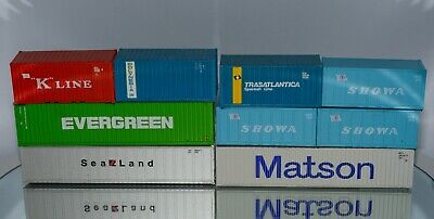 AU32.24 • Buy (9) HO Scale Shipping Containers