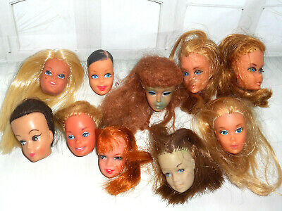 $ CDN31.32 • Buy Vintage TLC TITIAN PONYTAIL BARBIE CASEY STACEY CLONE DOLL HEAD LOT OOAK REPAIR