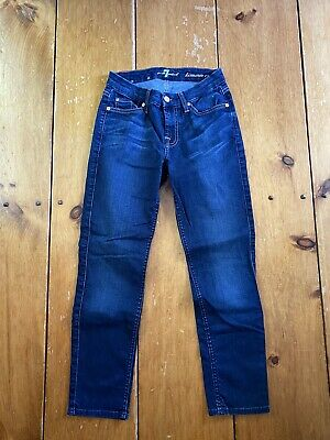 AU6.46 • Buy 7 For All Mankind Kimmie Crop Jeans Sz. 25