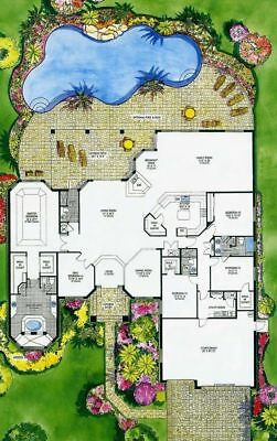 CAD DWG Files For Custom Home House Plan +600 Files Blueprint Plans2 • 1.43£