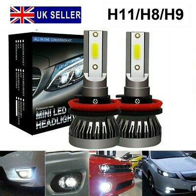 AU16.89 • Buy 2X H11 Car LED Fog Light Bulbs Headlight Conversion Kit Super Bright 6000K White