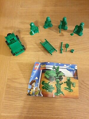 LEGO Toy Story Army Men On Patrol (7595) Complete With Instructions But No Box • 19£