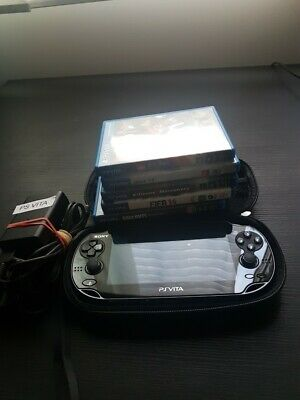 AU350 • Buy Playstation Vita Pch-1002 With 8gb Memory Card+ Case+charger+5games!