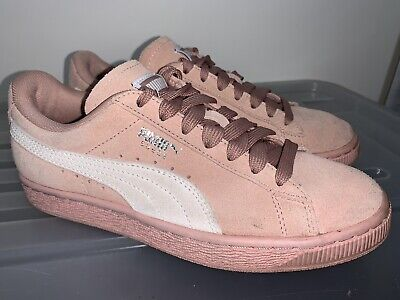 AU35 • Buy Womens PUMA Suede Pink Leather Sneakers US 6 #20293