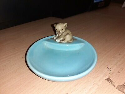 £7.99 • Buy WADE TURQUOISE WHIMTRAY - FIRST WHIMSIE LION CUB - C1985