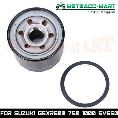 $11.65 • Buy Oil Filter For Suzuki GSX-R600 750 SV650 Replace 16510-03G00-X07 16510-03G00