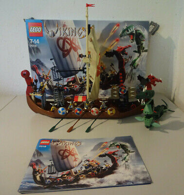 £178.69 • Buy (Go) LEGO 7018 Viking Ship With Original Packaging & Ba 100% Complete Used