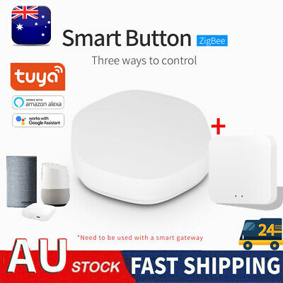 AU24.92 • Buy Tuya Zigbee MINI Smart Switch Wireless Switches For Alexa Google Home Gateway AU