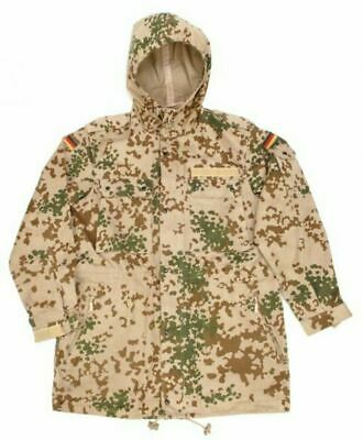 $34.60 • Buy Bw Parka Field Jacket Desert Camouflage Tropical Camouflage Size S - XXL Used