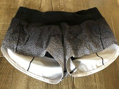 $ CDN40 • Buy Lululemon Ombre Speed Shorts Size 6
