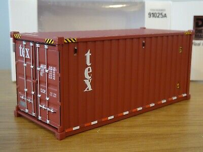 £24.19 • Buy Diecast Masters Tex 20ft Shipping Container Truck Load Model 91025a 1:50