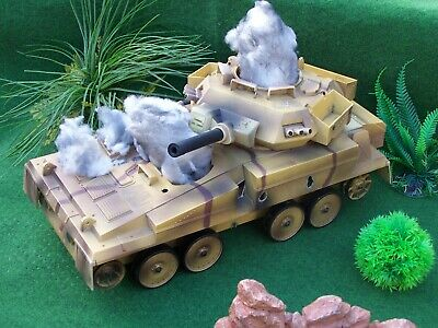 Hm Armed Forces Battle Damaged Scorpion Light Tank, Something For A Diorama? • 15£