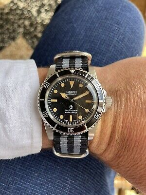 $ CDN84 • Buy Watch Seiko Diver Homage Moviment Nh35 Automatic Winding