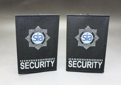 £9.95 • Buy SIA LICENSED SECURITY OFFICERS BADGED EPAULETTES (Blue)