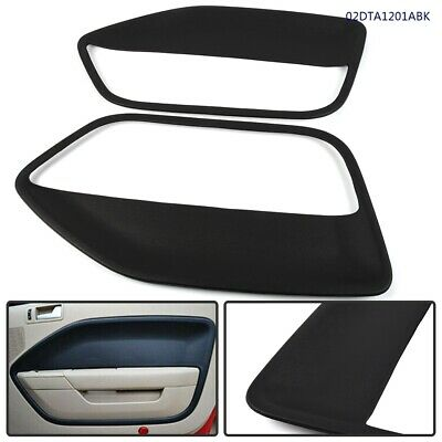 $69.94 • Buy Set Of 2 Door Panel Insert Cards Cover For Ford Mustang 2005 2006 2007 2008-09 U