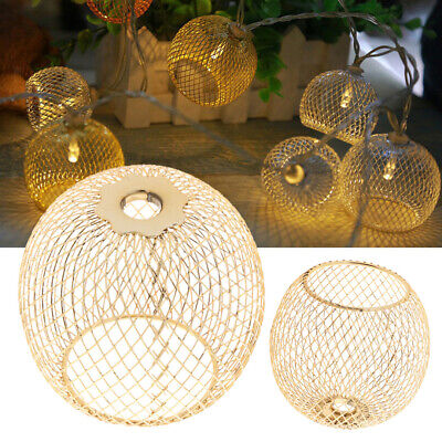 £5.39 • Buy Industrial Iron Cage Lamp Shade Ceiling Shades Bulb Cage Pendant Light Cagekk