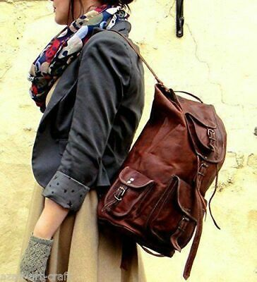 AU66.50 • Buy Backpack Bag Leather Purse Shoulder New Women Travel Rucksack Handbag Sling New