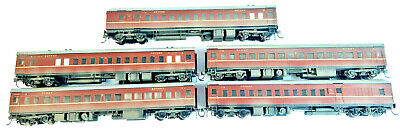 AU560 • Buy Eureka 5-car Nswgr Hub Set Indian Red Weathered Very Good Unboxed Ho Gauge(vb)