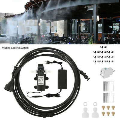 £38.99 • Buy 12V Water Pump Garden Drip Irrigation Misting System Auto Watering Cooling Hose